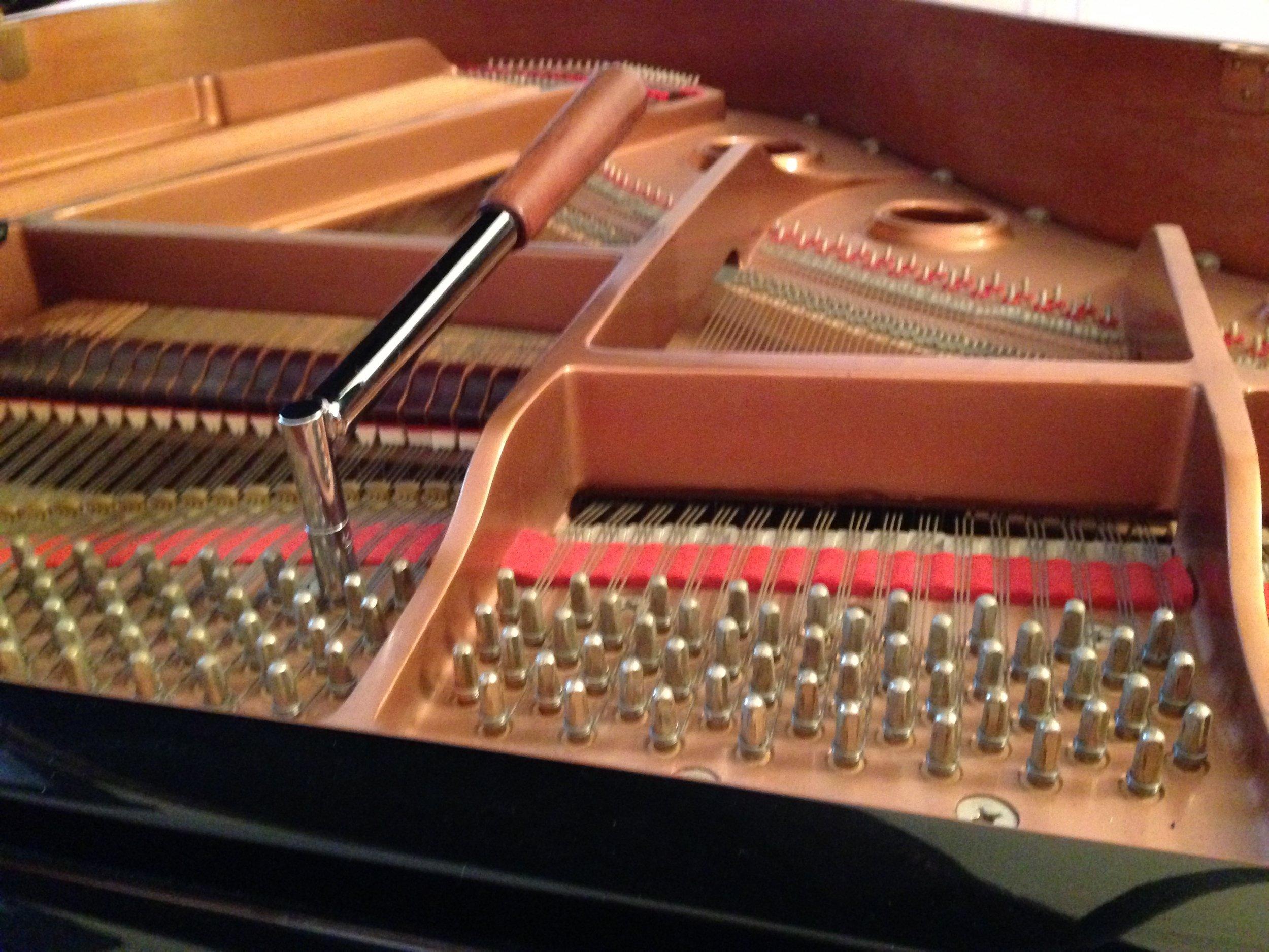 ...on virtually all pianos...