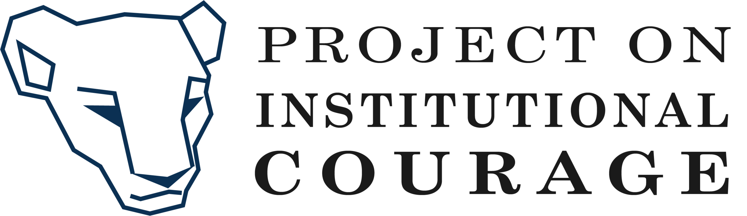 Project on Institutional Courage Logo.png