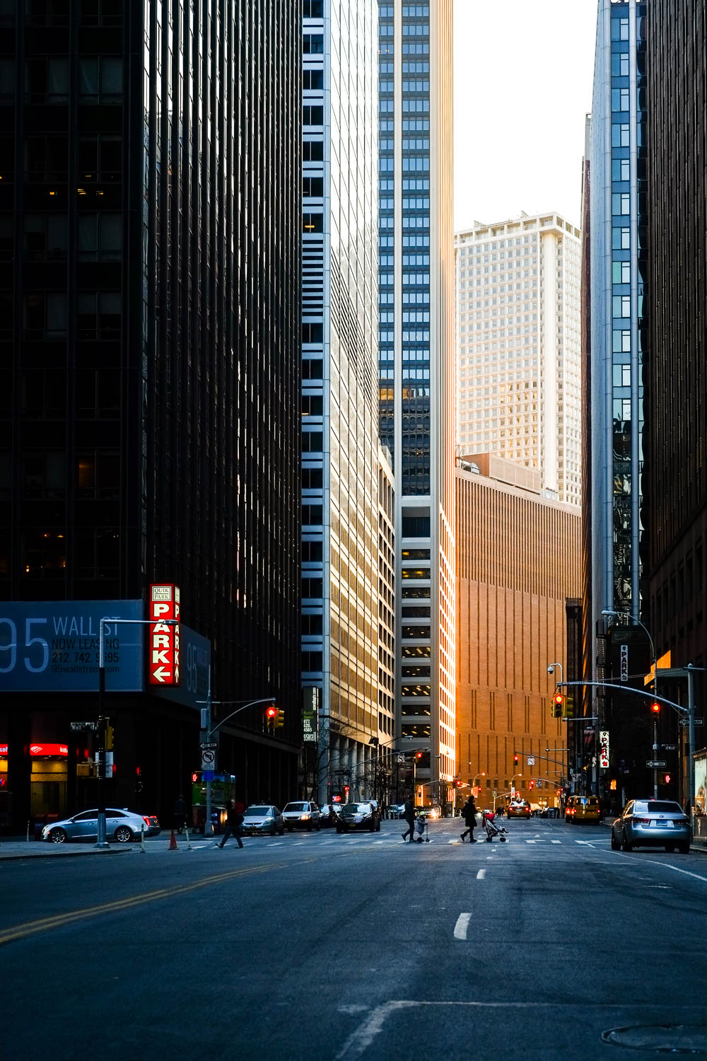 Water and Wall Street in Manhattan during a sunset. Fujifilm X-pro1, Fujinon 35mm f/1.4. 1/125 @ f/4 ISO 200
