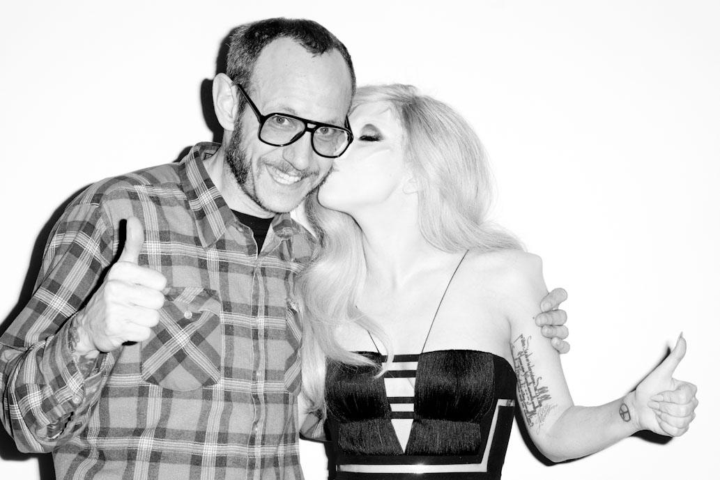 Terry Richardson and Lady Gaga shot on the Yashica T4.