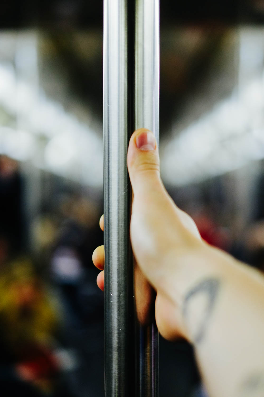 The 2 train in Manhattan. Fuji X-pro1, Fuji XF 35mm 1/125 @ f/1.4 ISO 400.