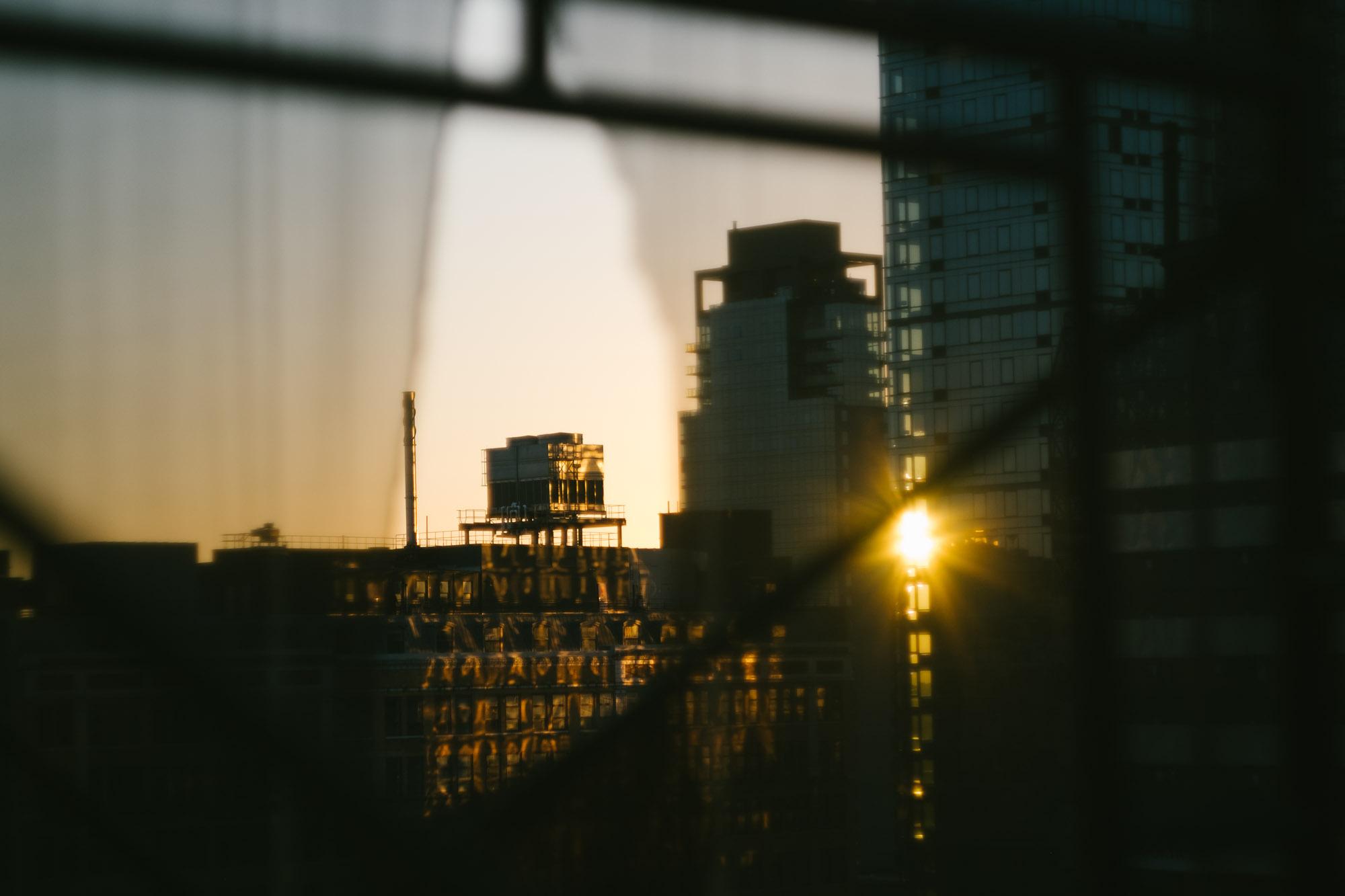 Sunset in Midtown. Fuji X-Pro 1, Helios 44-4