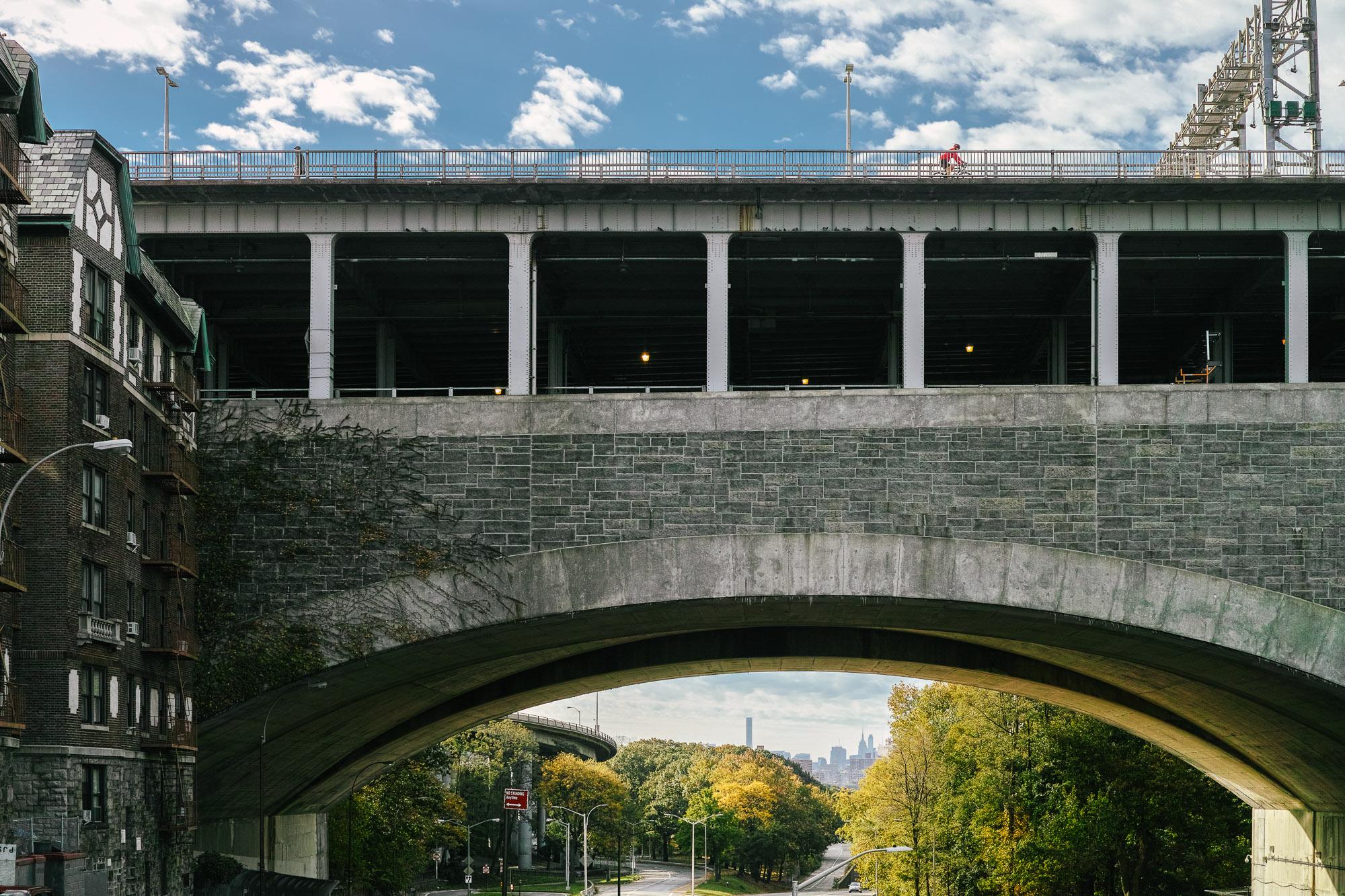 George Washington Bridge overpass in Washington Heights, Manhattan. Sigma DP2 Merrill, 1/800 @ f/4 ISO 100