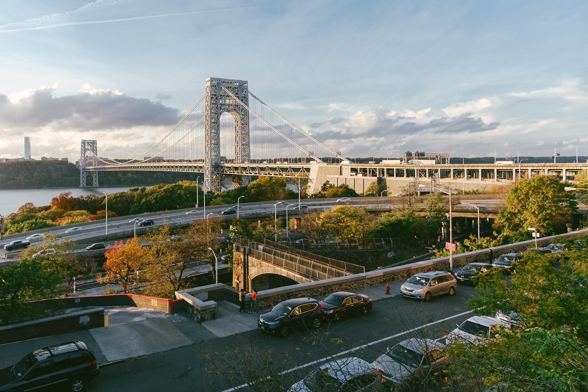 George Washington Bridge in Manhattan. Fuji X-pro1, Rokinon 12mm f/2.