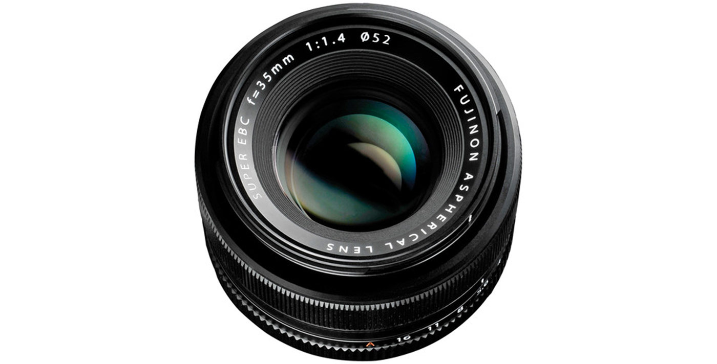 The Fuji XF 35mm f/1.4. Image courtesy of  B&H .