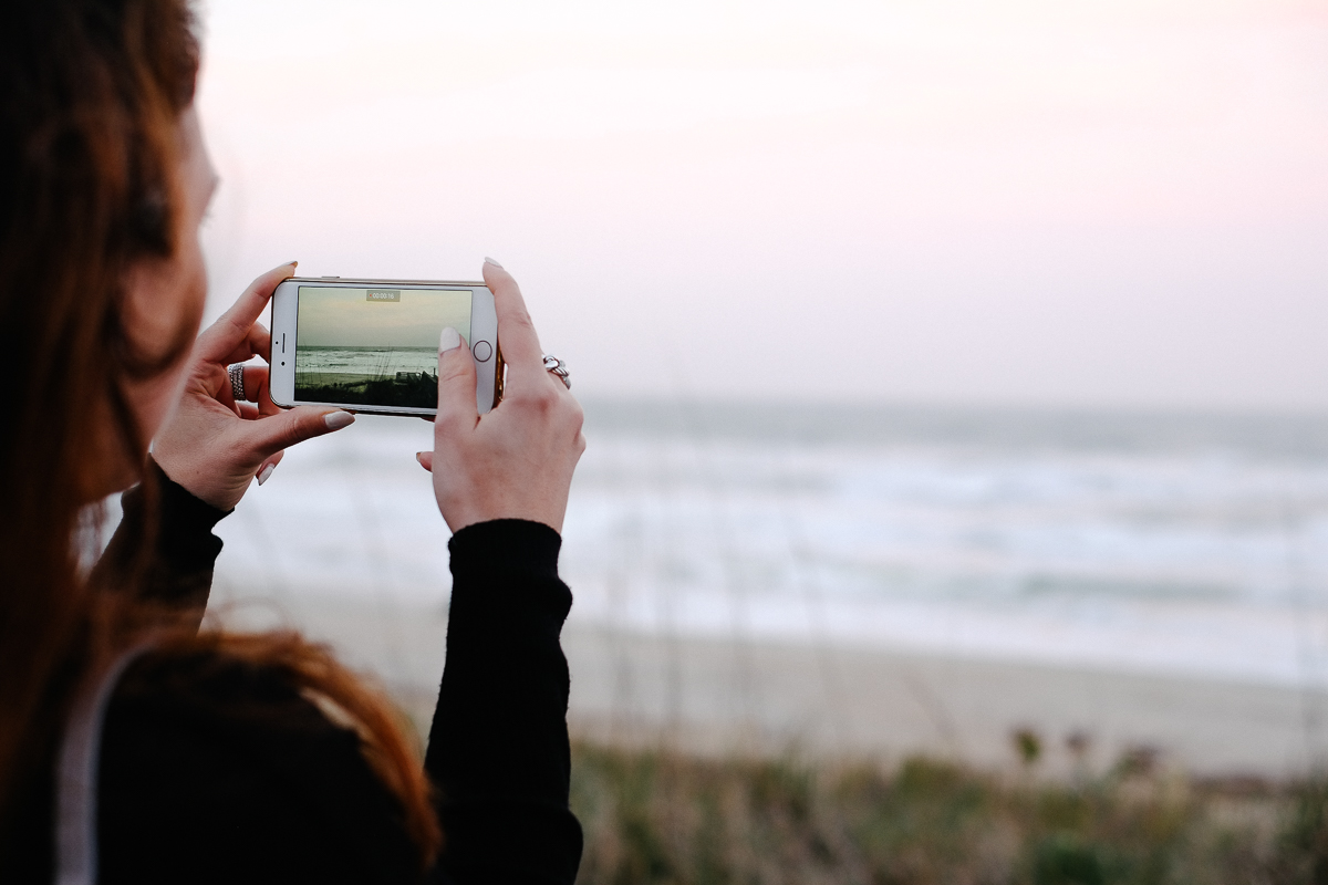 Catherine at the ocean. Fuji X-Pro 1, Fuji 35mm f/1.4.