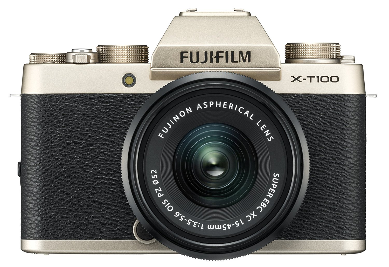 Fuji X-T100 - Say hello to Fuji's most affordable camera!Instead of Fuji's 24MP X-Trans III sensor, this camera comes packed with a 24MP Bayer sensor. For most, the difference between an X-Pro 2 still and an X-T100 still would be indistinguishable: almost identical ISO performance, dynamic range, sharpness, etc.But some photographer prefer the traditional Bayer look to Fuji's X-Trans sensor. If you're one of them, the X-T100 couples the delightful ergonomics and professional lens lineup with the sensor technology you know and love from Canon and Nikon.Autofocus is zippy, the buffer handles fast-paced RAW shooting quite well, and it's got an articulating screen for those selfie moments. What more could you want?If image quality is important to you and you don't mind the Bayer sensor, this is the camera for you.