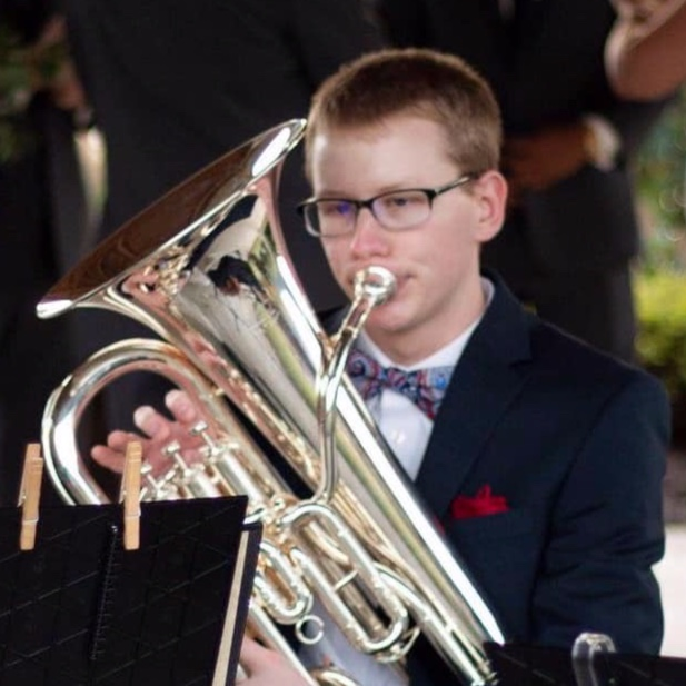 Announcing the recipient of our inaugural Melodic Minors Volunteer Scholarship: Ryan Tant - Melodic Minors is pleased to announce the receipt of our inaugural Melodic Minors Volunteer Scholarship, Ryan Tant. Ryan has been volunteering with Melodic Minors since November 2018 and plays euphonium, tuba, and trombone. To read the full article, click here.