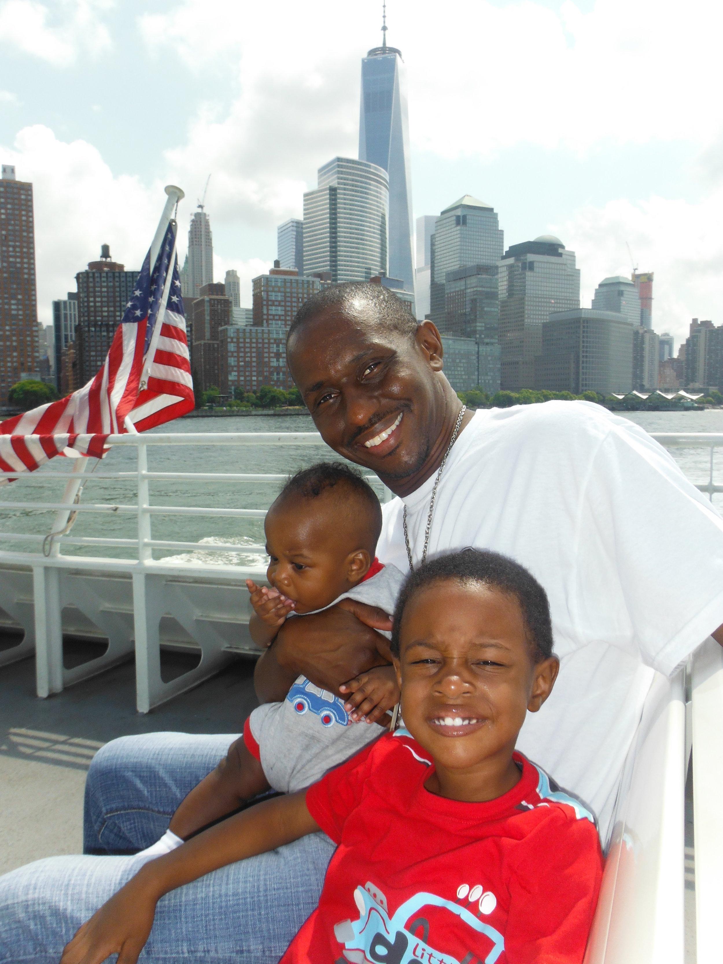 Quick Cruise Around The Statue of Liberty 2015