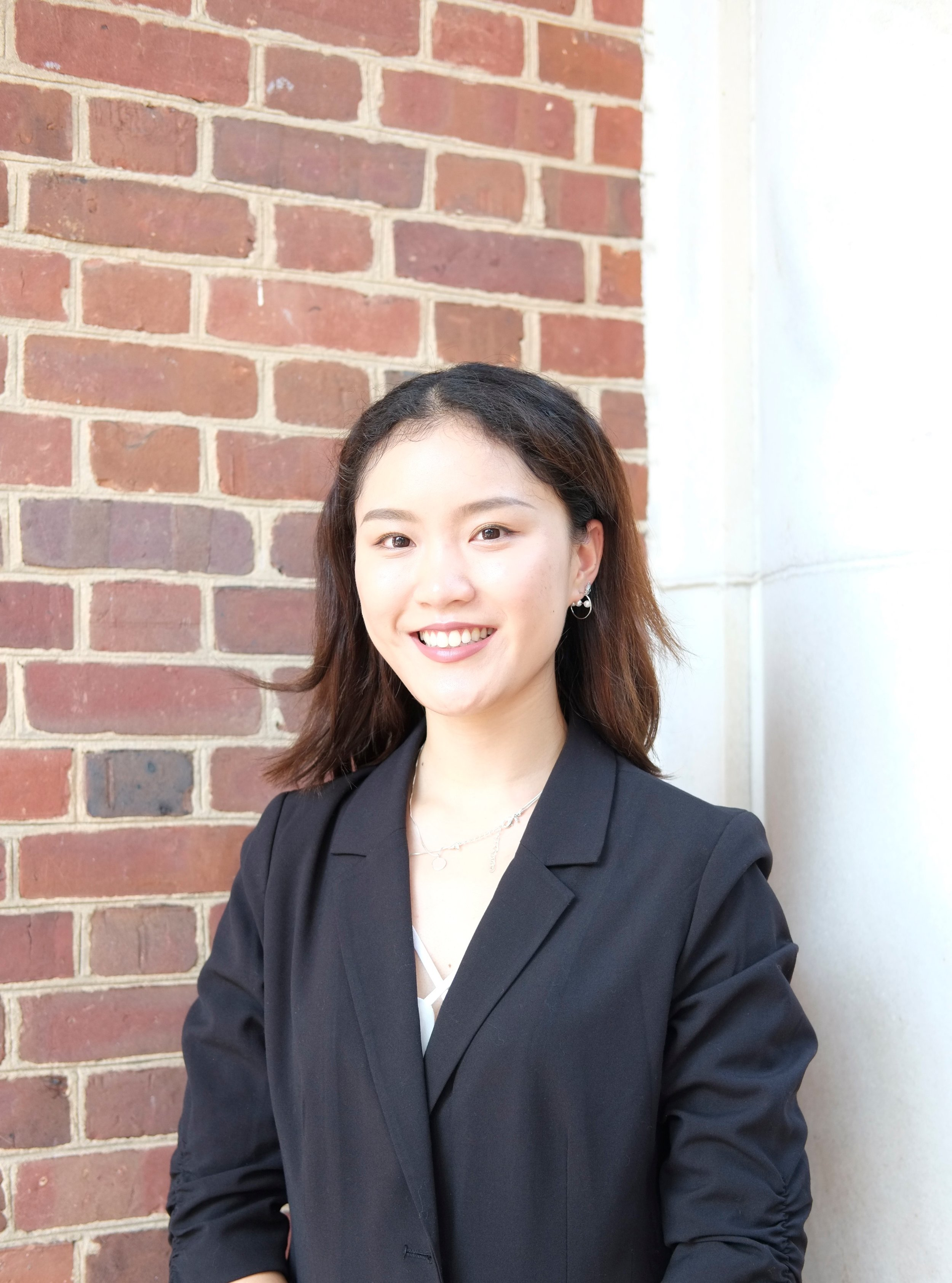 Events Chair: Audrey Tao - Audrey Yani Tao is a Public Health Studies and Economics major in the class of 2020. She has also decided to pursue a minor in Marketing and Communications. Audrey currently serves as the Events Chair in Women in Business.