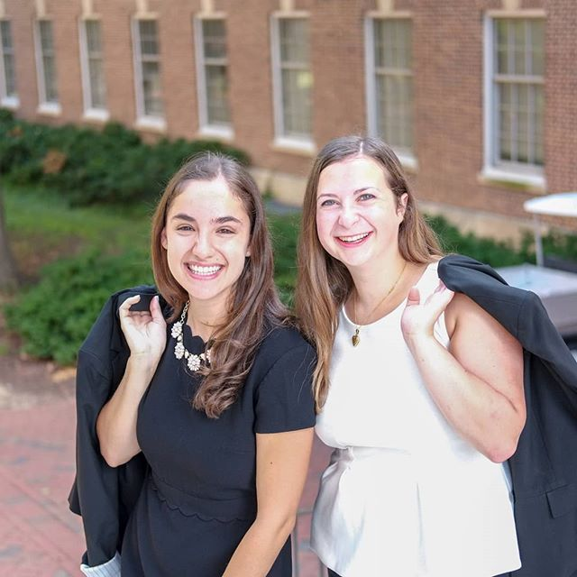 """""""I couldn't have asked for a better partner or friend to be Co-Presidents of WiB with. Besides being an amazing leader and worker (I have never seen a project or problem that Tamara can't tackle), Tamara is incredibly supportive and caring to those around her, and I'm so lucky to have gotten to know her."""" - Alyssa Karbel '20"""