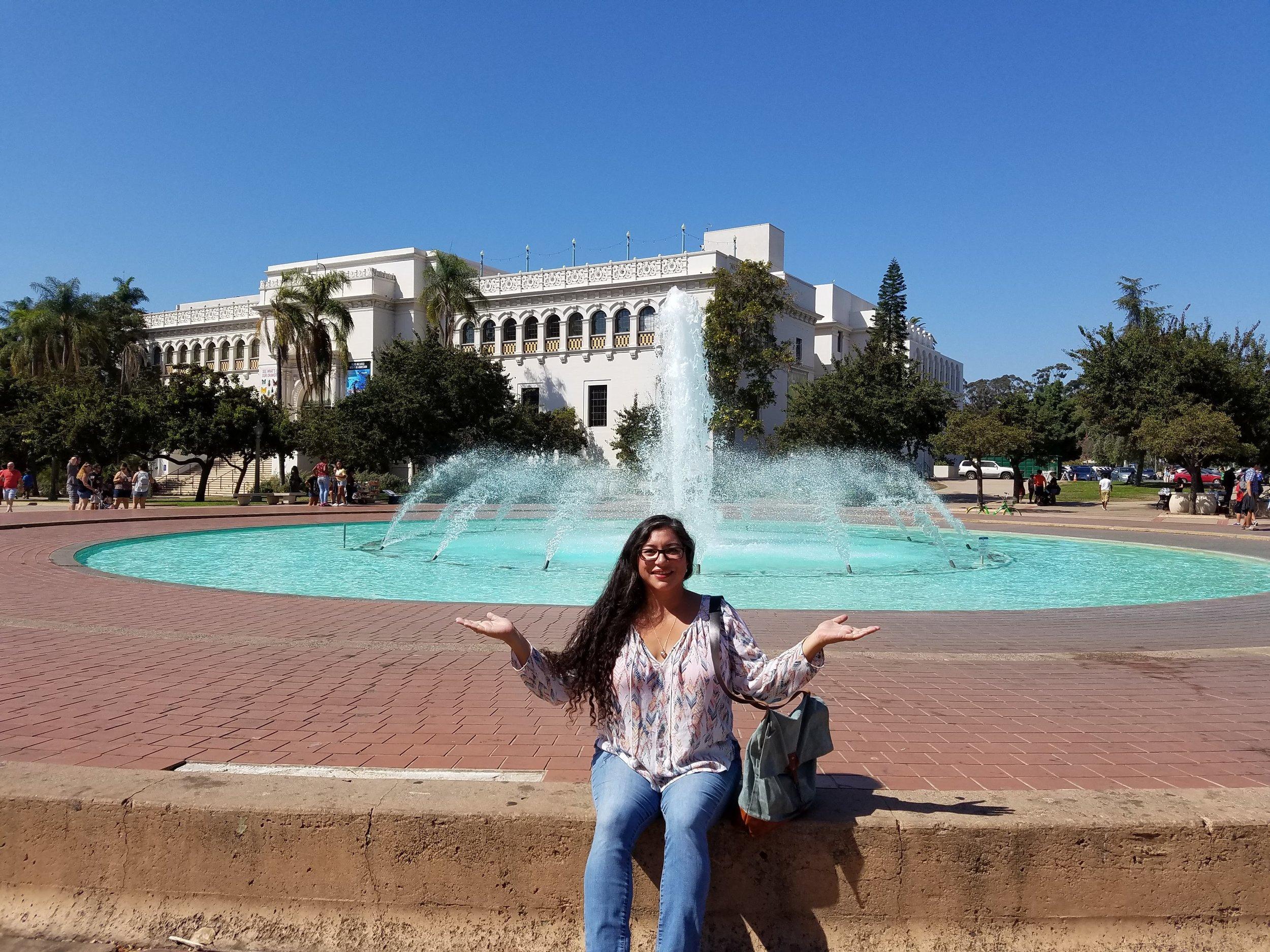 Balboa fountain