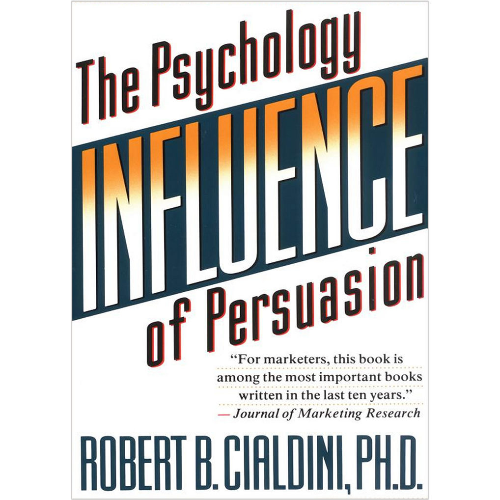 This is the most important psychology book of all time !! Robert Cialdini draws on the expertise that compliance professionals have developed over centuries into  6 Principles of Persuasion . These are so incredibly powerful that I reference them every time I'm brainstorming a new ad campaign. Reading this book has made me a more effective copywriter and marketer.