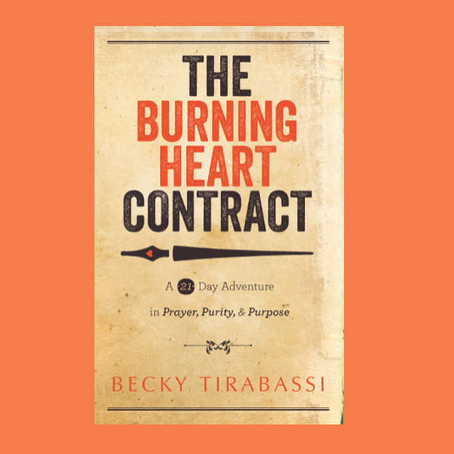 The Burning Heart Contract  by Becky Tirabassi