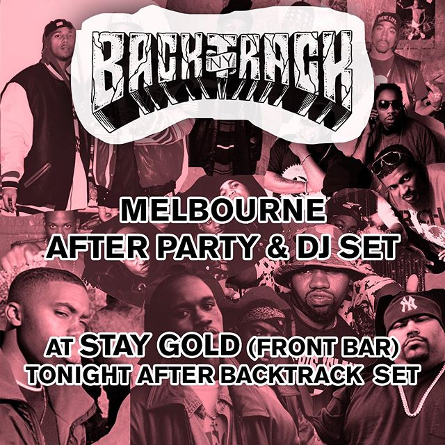 Show tonight at Stay Gold in Melbourne is sold out. Come kick it after.