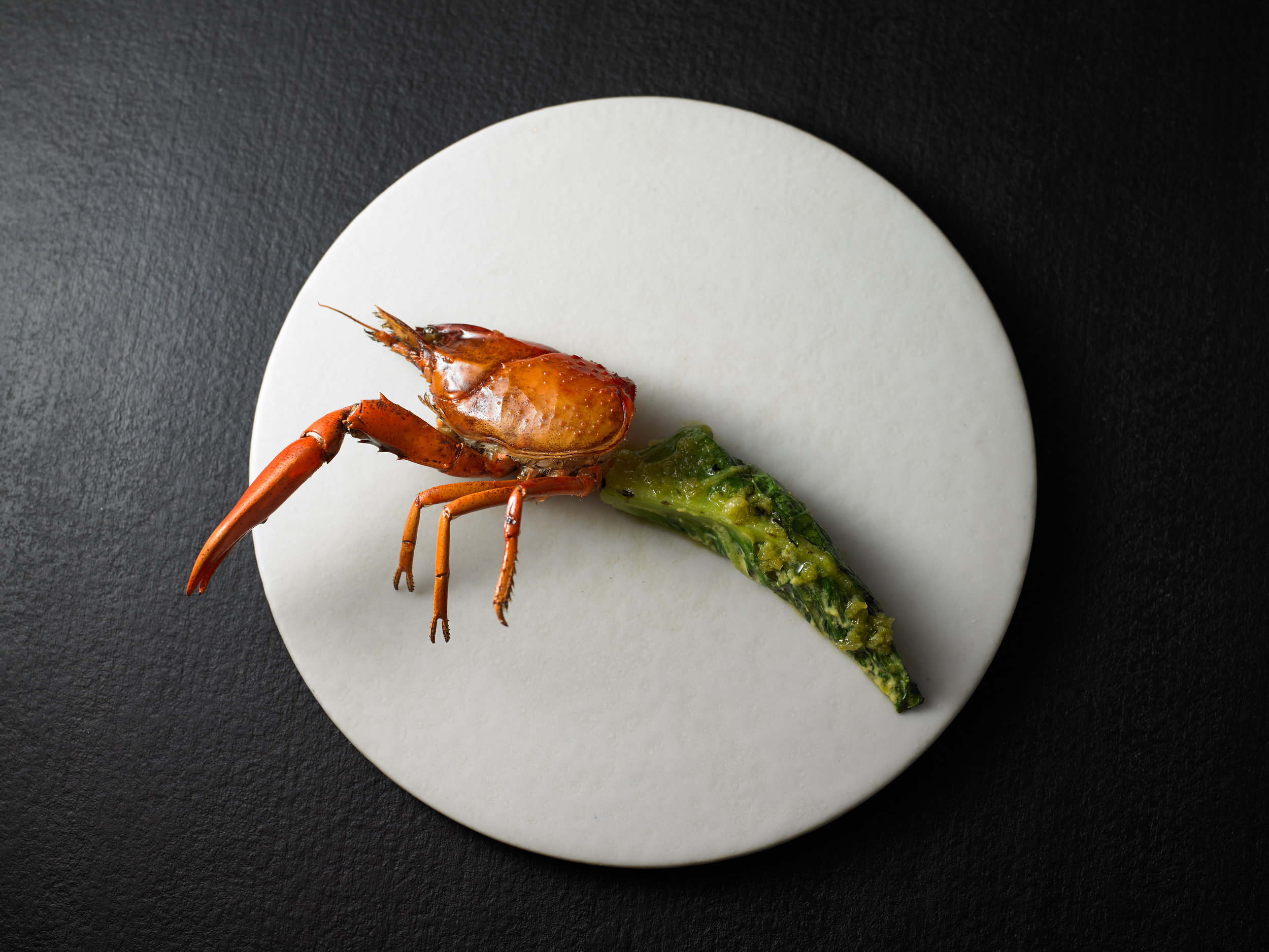 Grilled Marron with Desert Lime | Attica