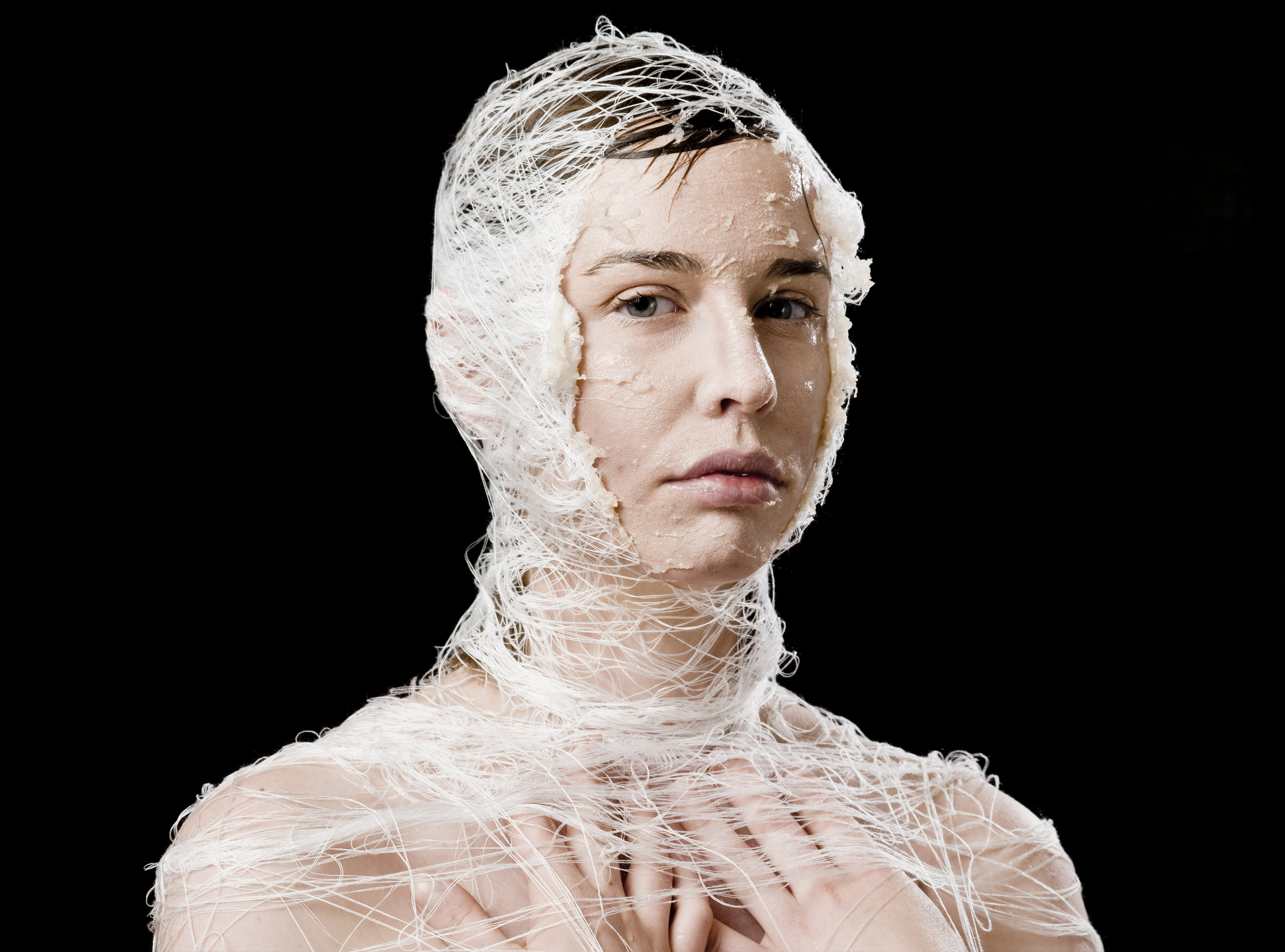 The Body Dissolves 'Garment For The Grave' by Pia Interlandi Image by Devika Bilimoria