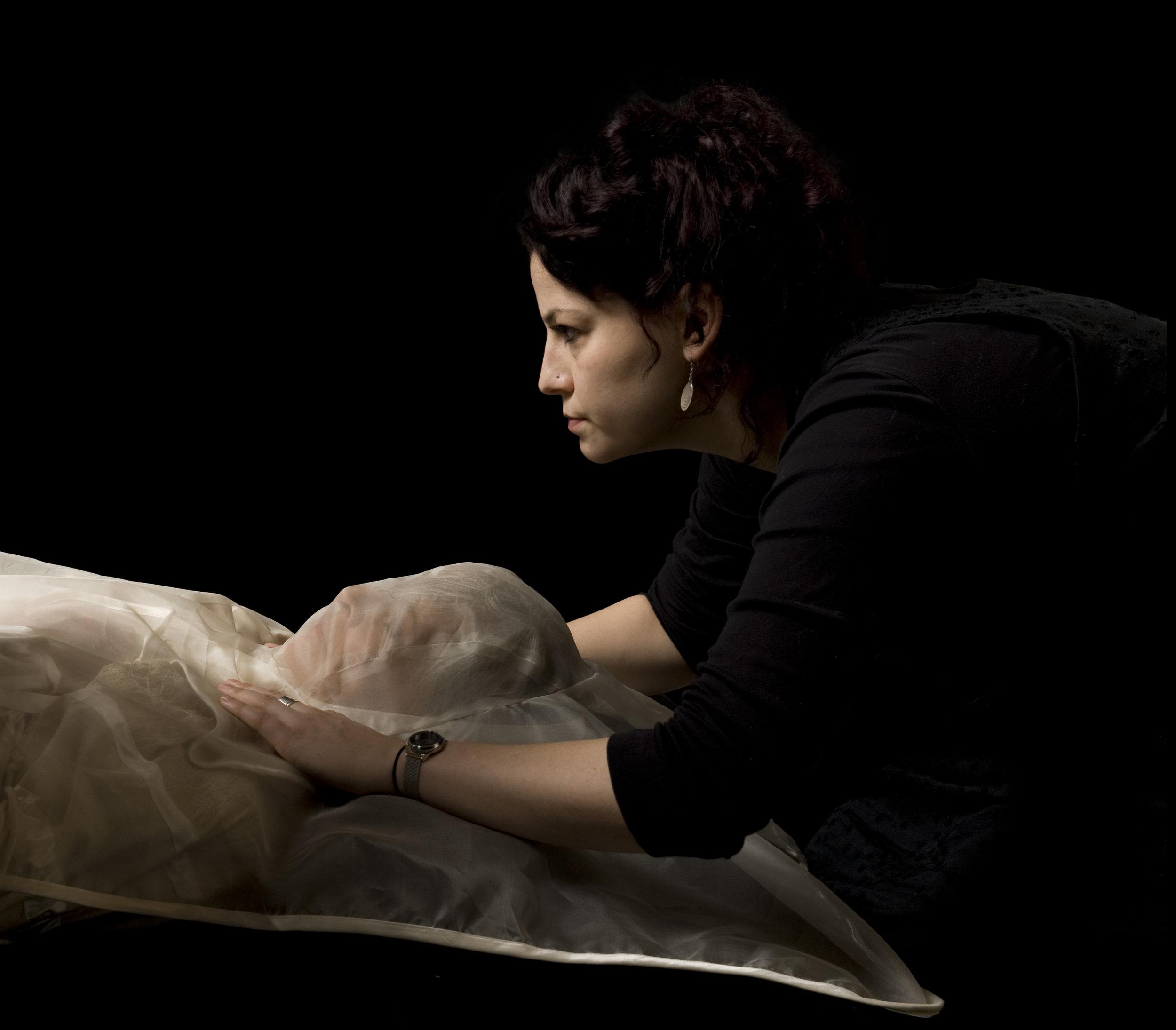 Prototype Dressing 'Garment For The Grave' by Pia Interlandi Image by Devika Bilimoria