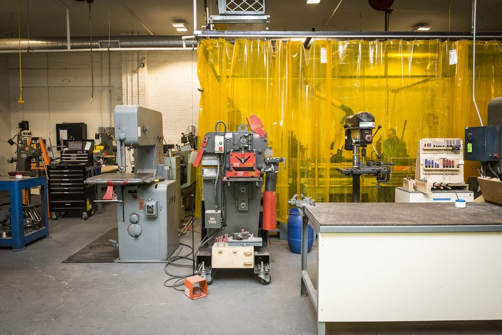Inside NextFab, the world's first Makerspace, in Philadelphia (US).