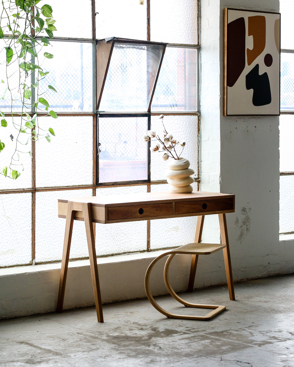 "The ""Ralph Stool and the ""Study Desk"" by Heimur."