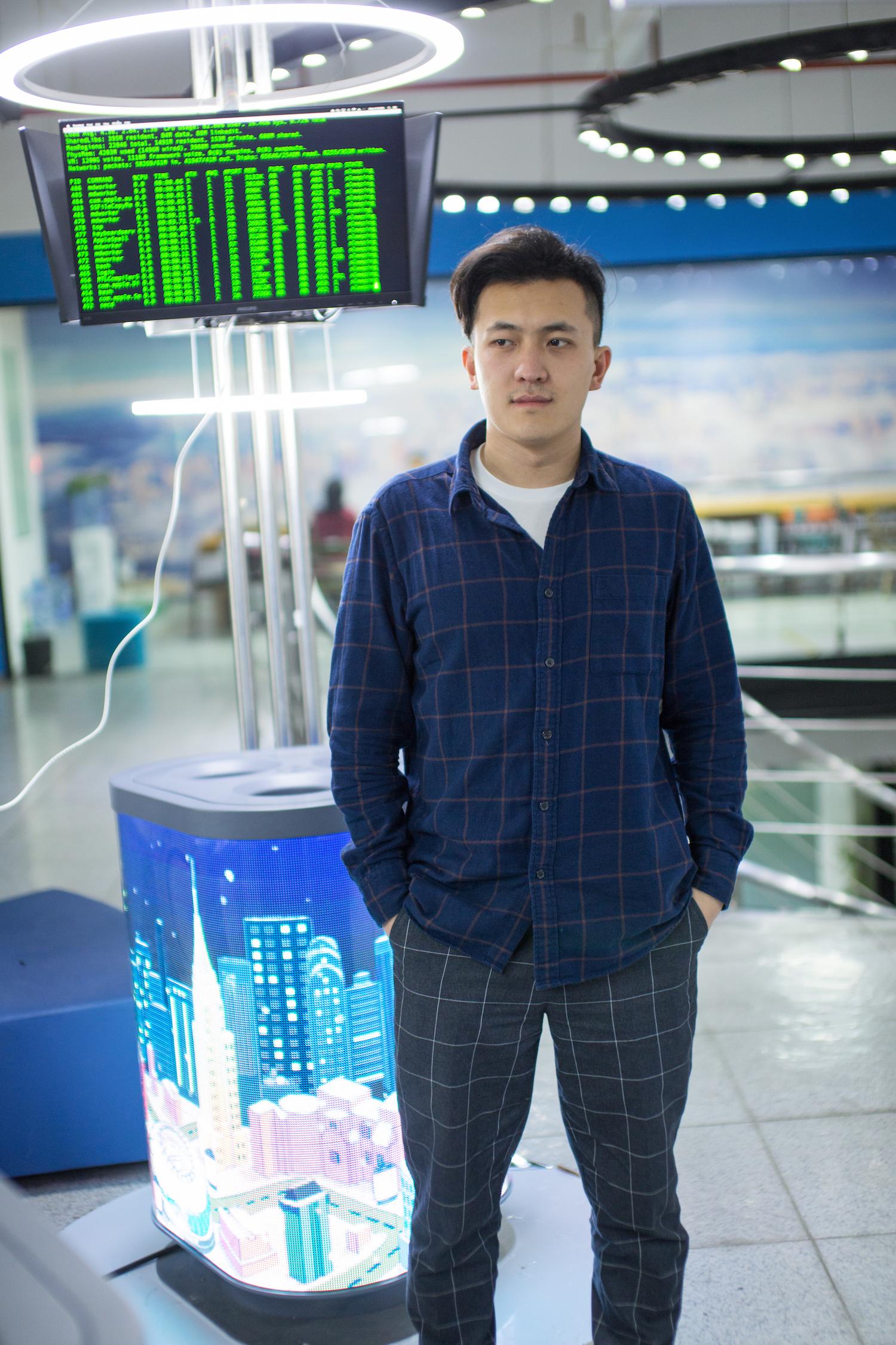 Steven Bai, the CEO of Sencity. Photo courtesy of Sencity.