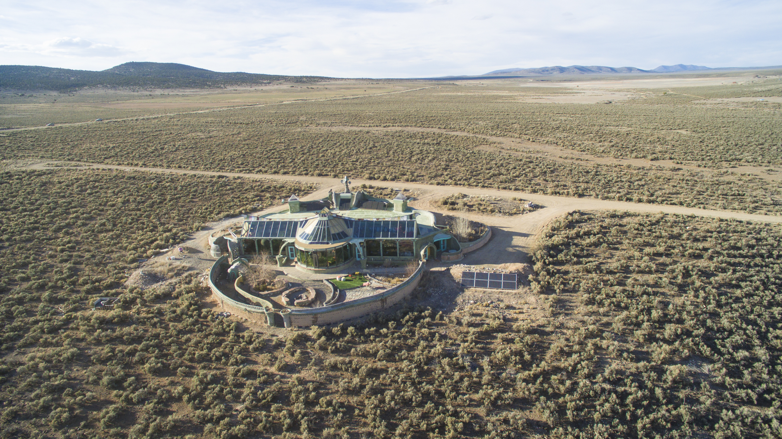 Rental Earthship in Taos, New Mexico.