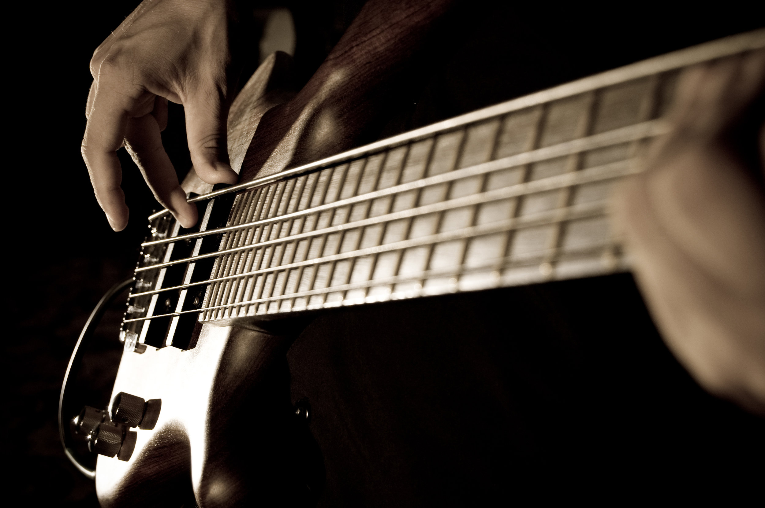 Kevin Gerndt - BassKevin has more than 40 years' experience playing bass in wide ranging musical genre's and bands; acoustic / folk, blues, rock, jazz, originals (in mold of Chicago), jazz/rock/fusion, pop, show tunes, worship music. Has recorded a live Jazz album (