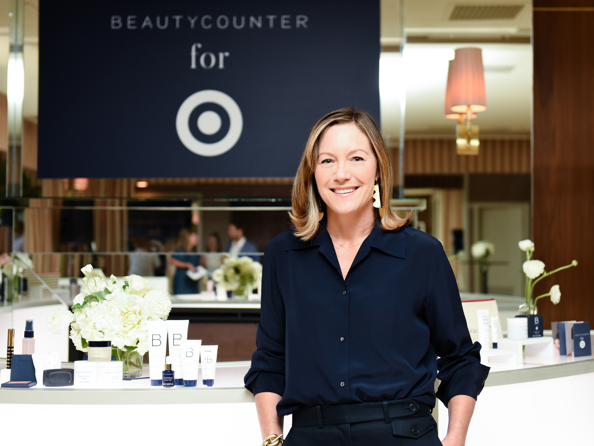 Beauty Counter for Target - event by Amy Zaroff