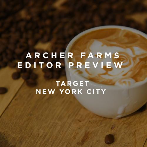 Amy Zaroff - Archer Farms Editor Preview