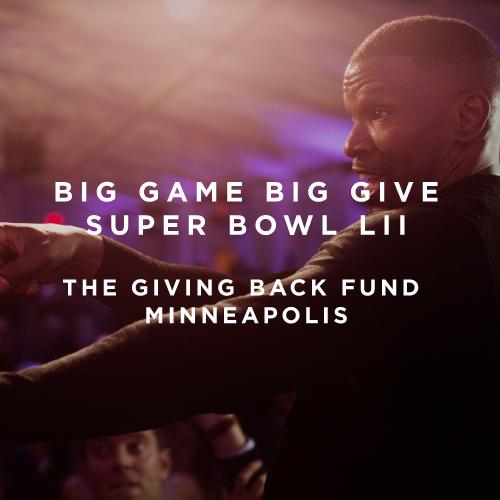 Amy Zaroff - Big Game Big Give