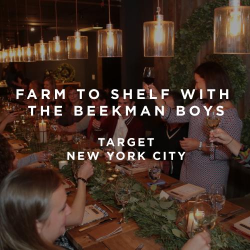 Fam to Shelf with the Beekman Boys