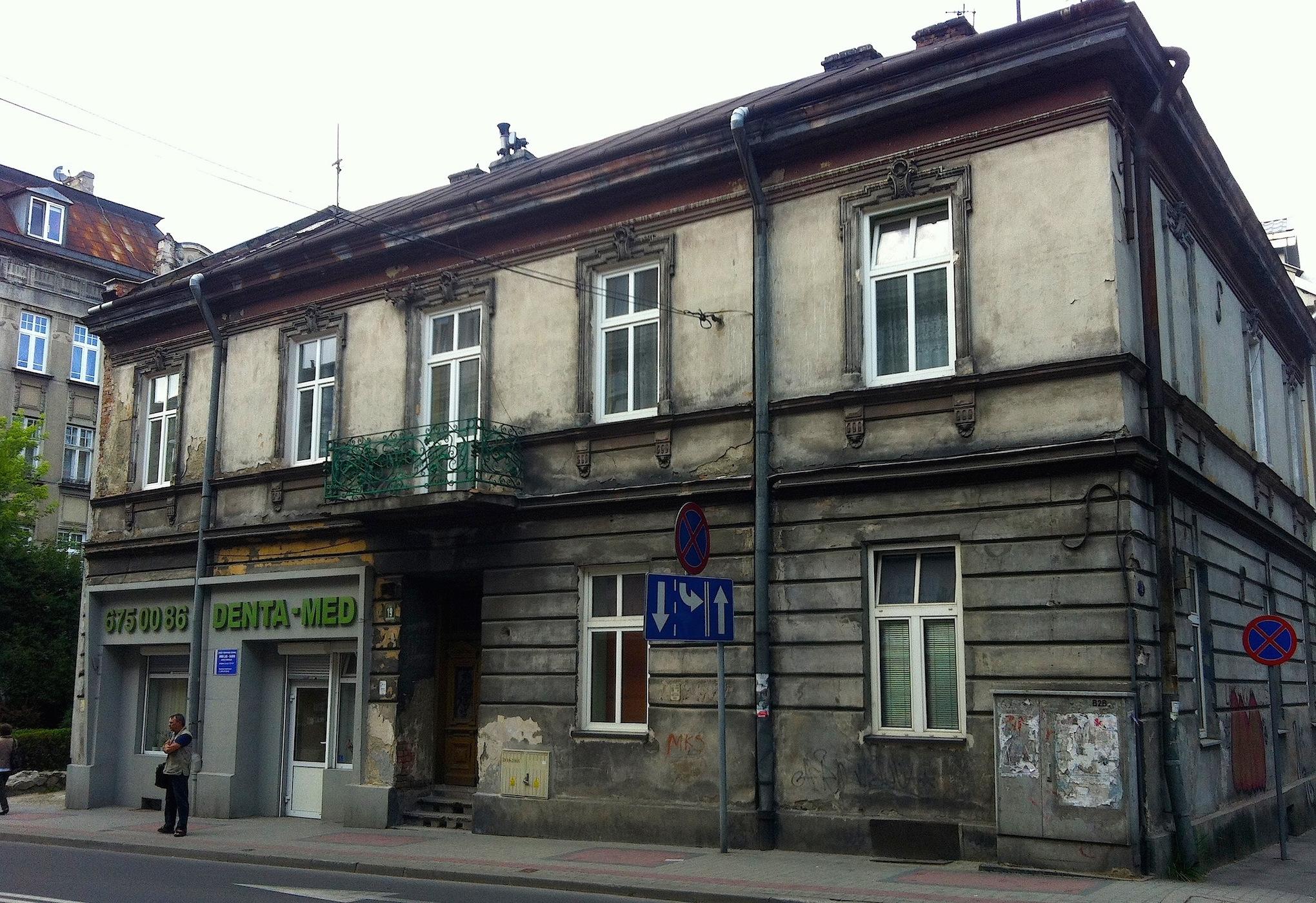 Renia Spiegel's home in 1939-1942.