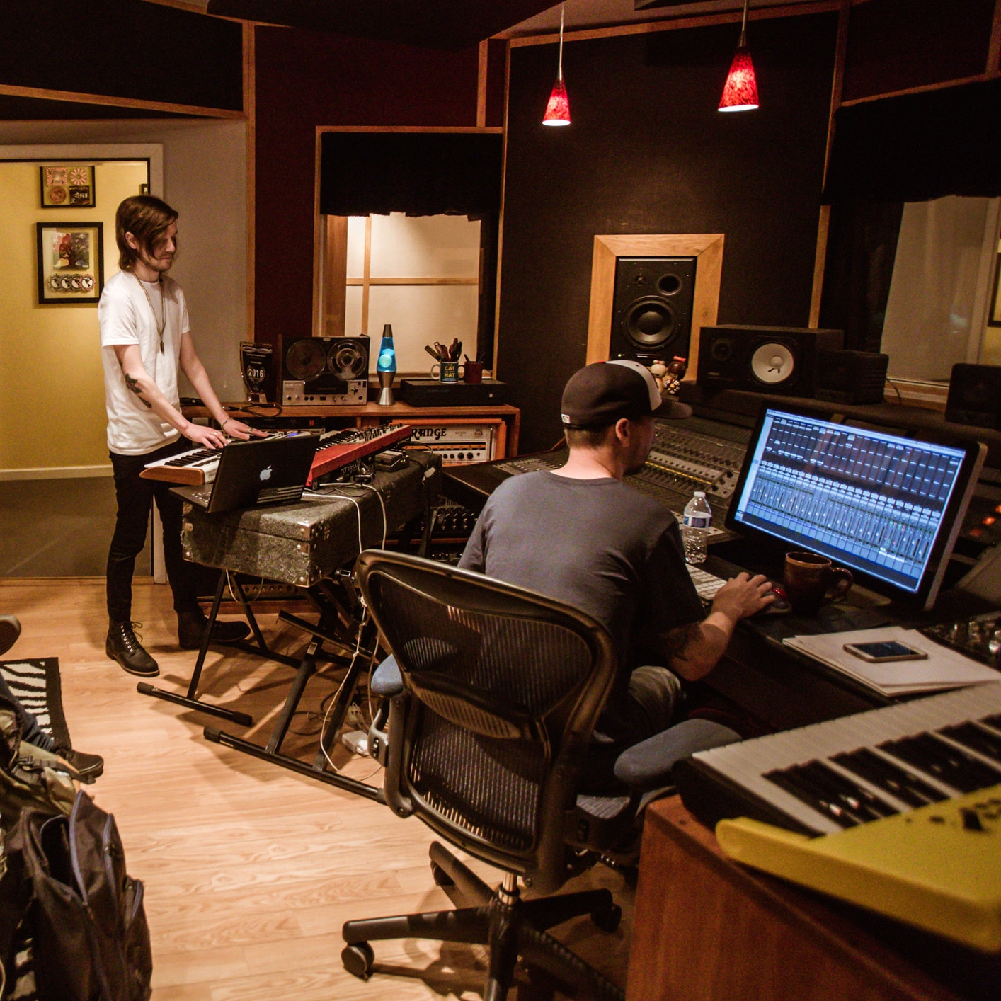 music production  If you want the whole package, we can produce your music.We will help you select and arrange your songs. If you need custom music, we've got you covered. Let us guide you through the entire process of recording,editing, mixing and mastering for one flat fee.     Ask for a quote
