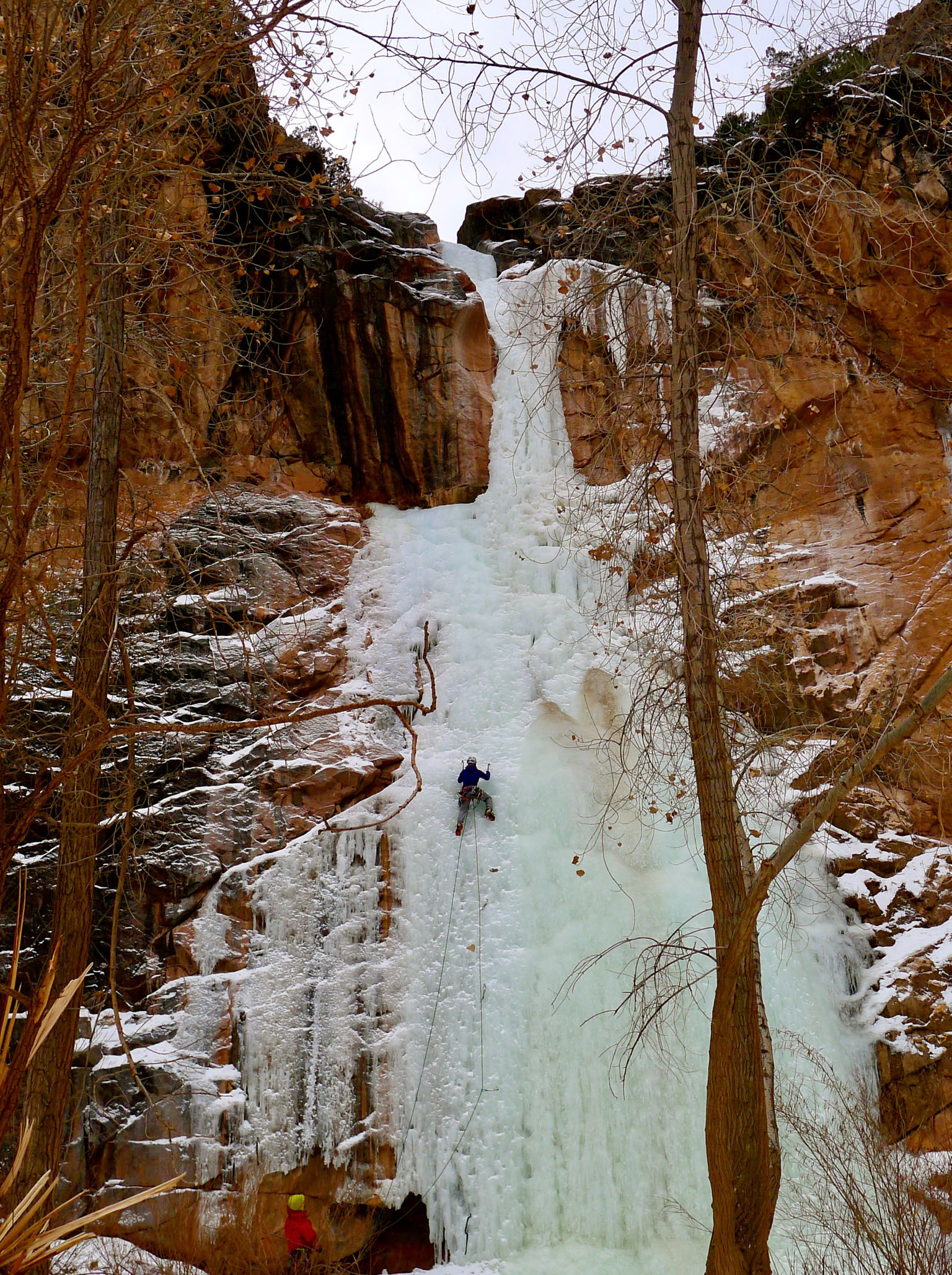 Desert Ice in Colorado National Monument
