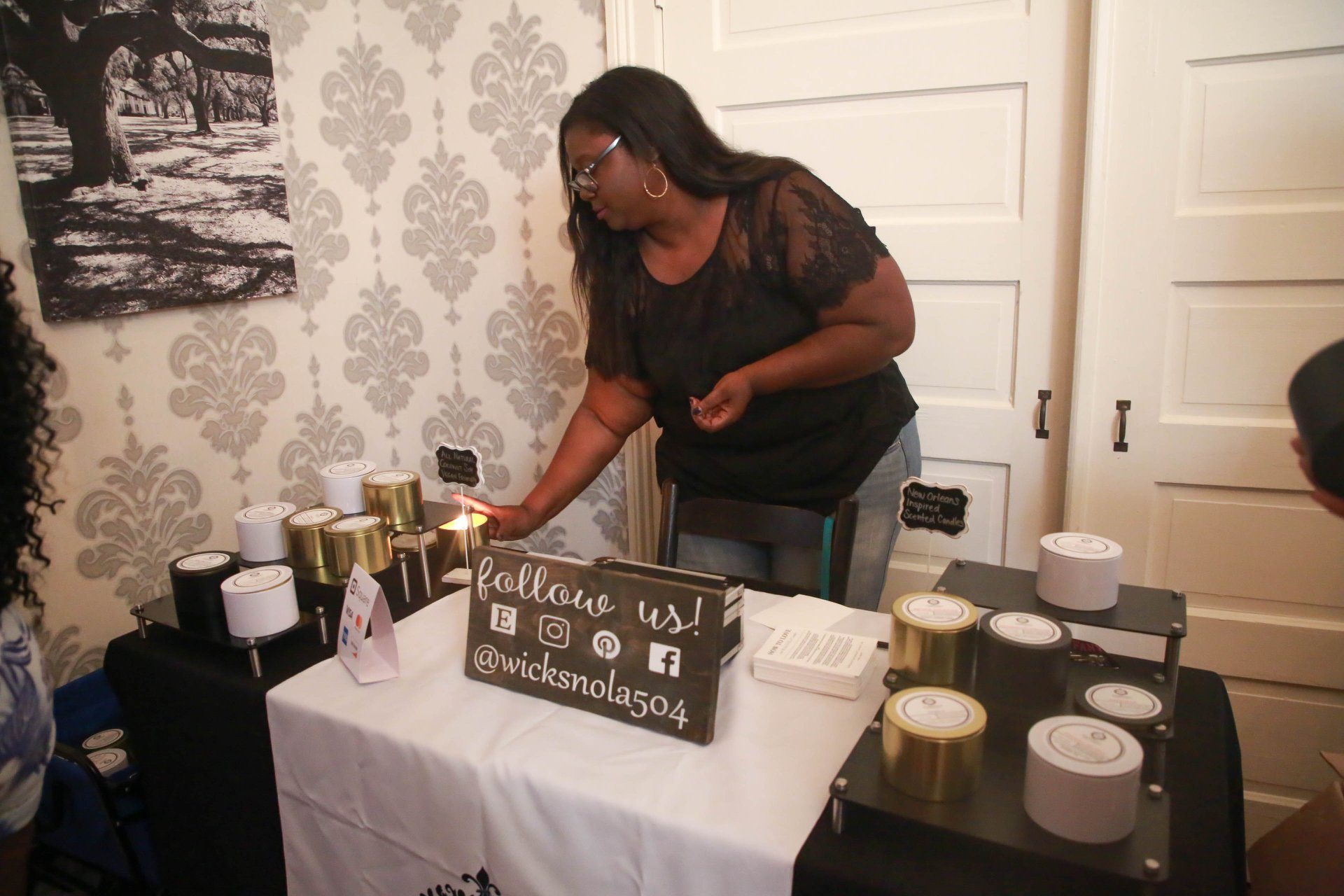 You heard the woman! Follow her for some amazing candles. They smell soooo good!