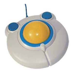 Trackball - Large control points,Moderate low cost.