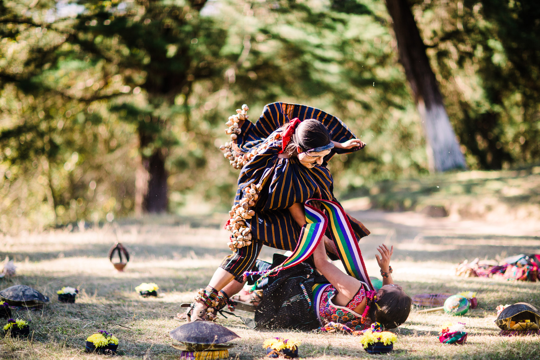 Moloj Wa'ix Ejqalem performance Guatemala gender violence awareness