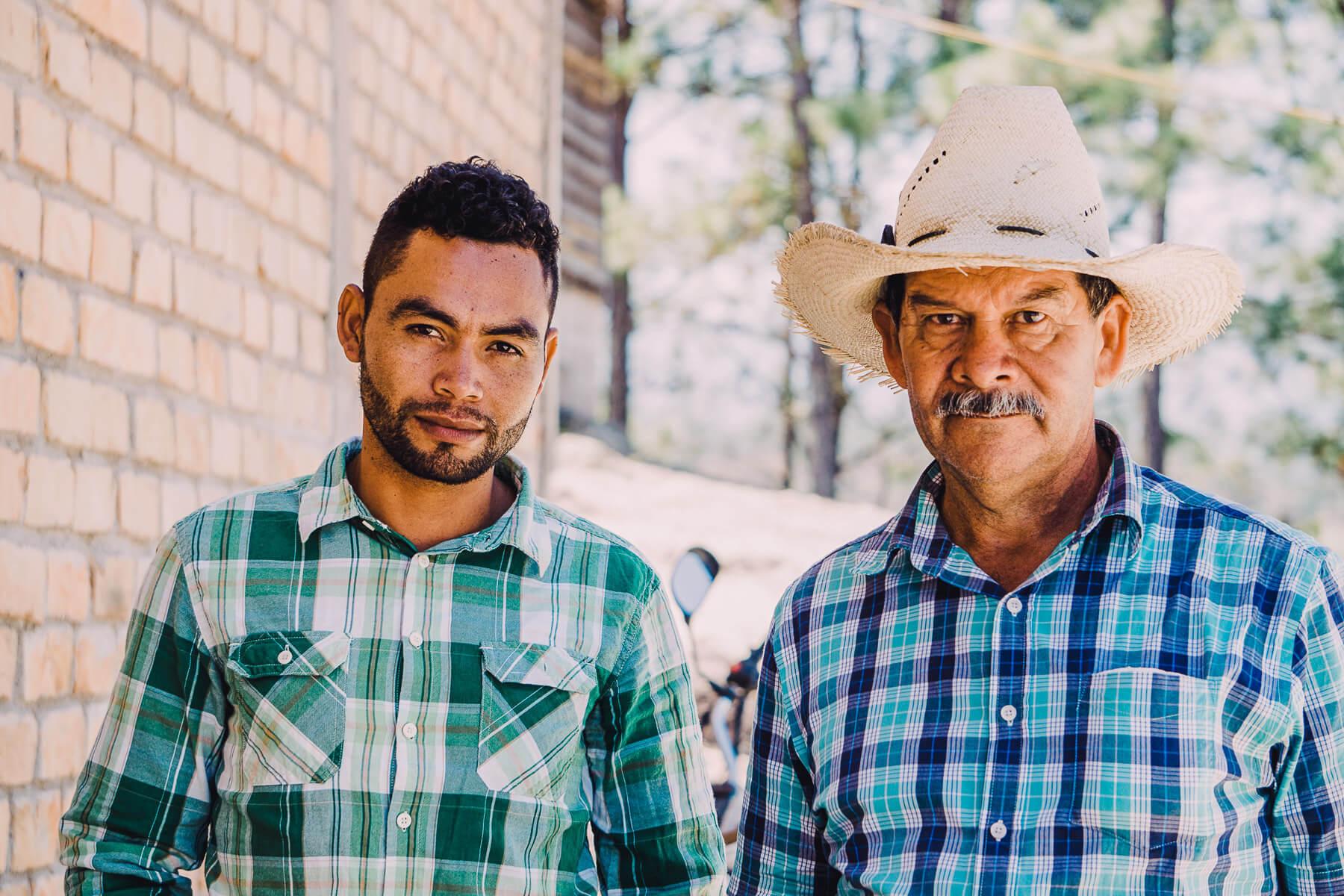 Rural Honduras farmers