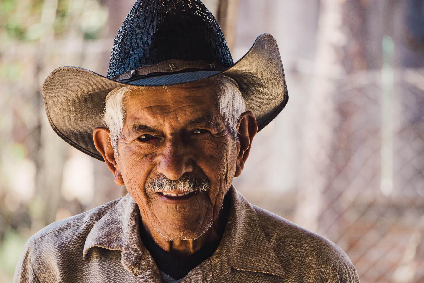 Rural Honduras farmer