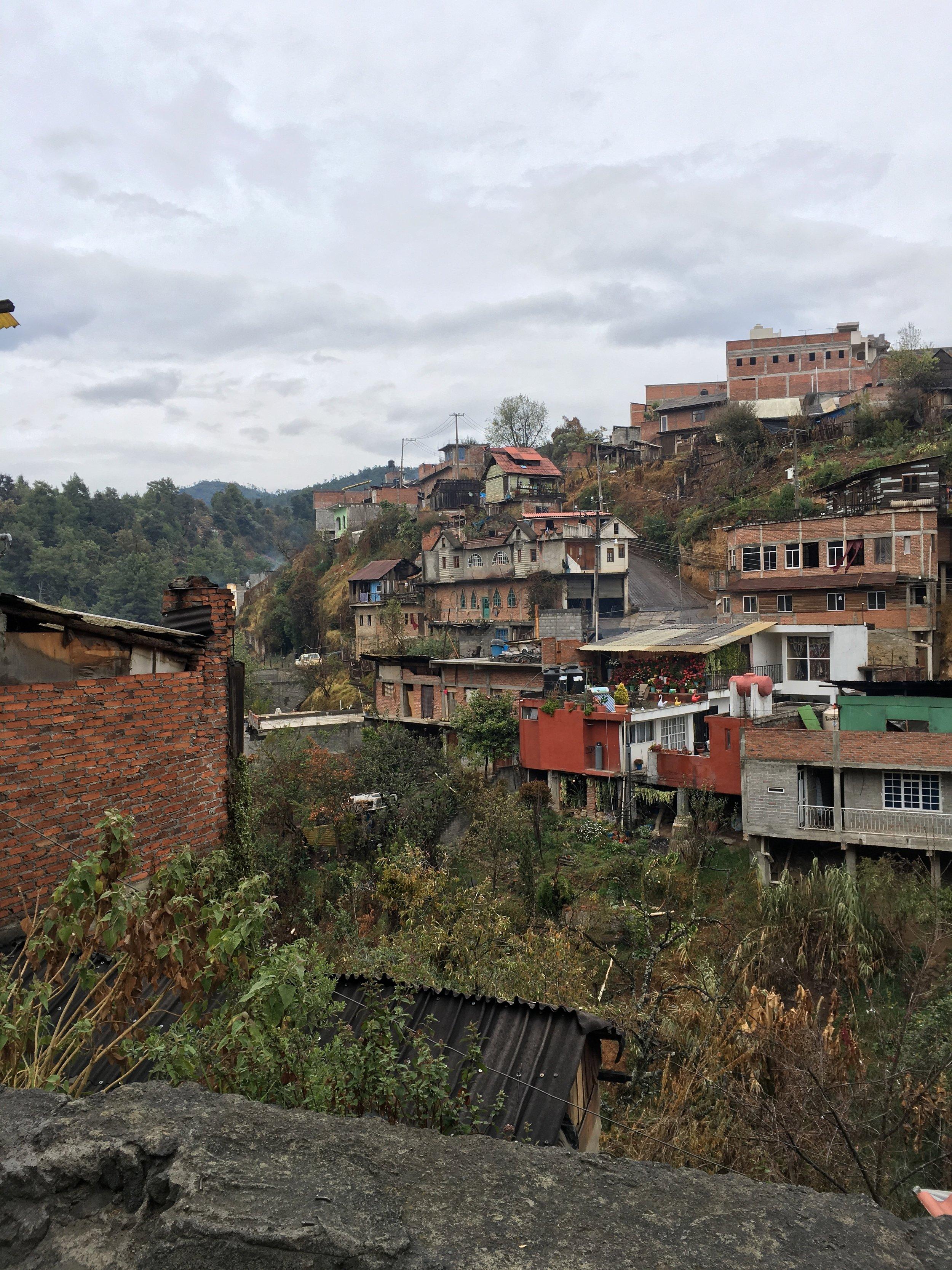 On the outskirts of Cherán