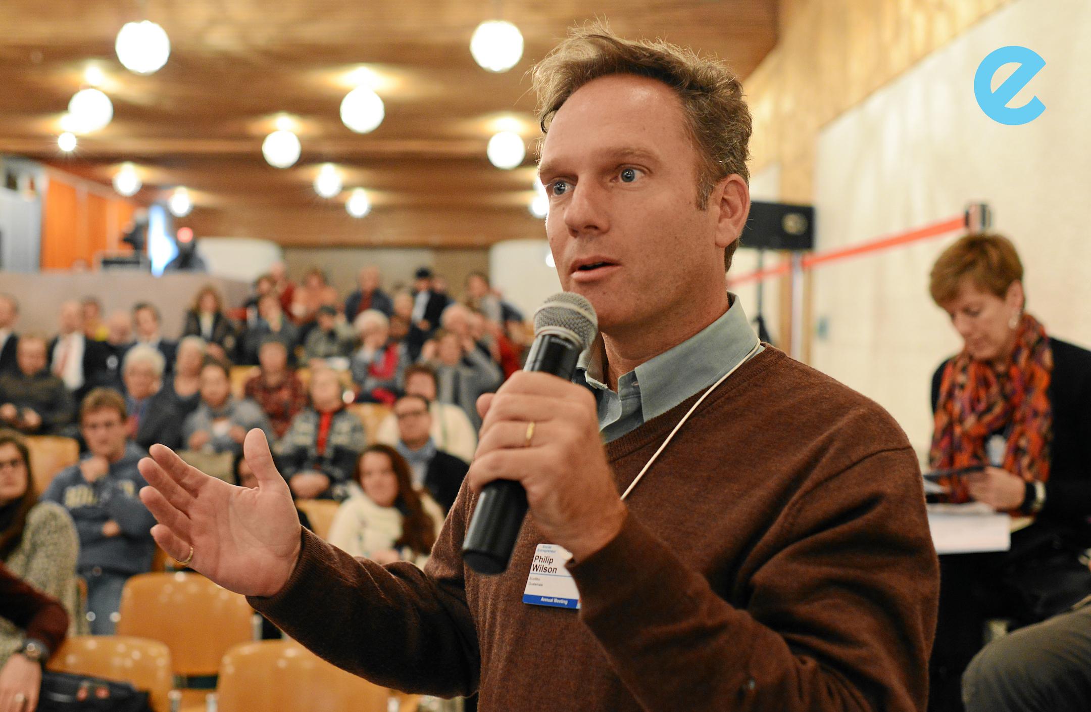 Photo courtesy of the World Economic Forum, 2013