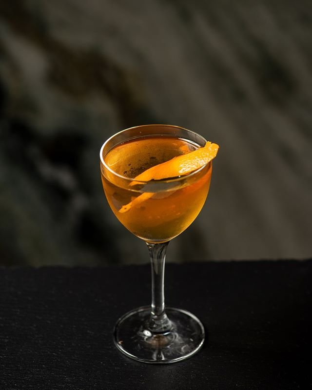 Our Smoked Ginger cocktail is made to perfection.