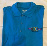Polo Shirts: S, M, L, XL - $20.00. 2XL & XL - $23.00