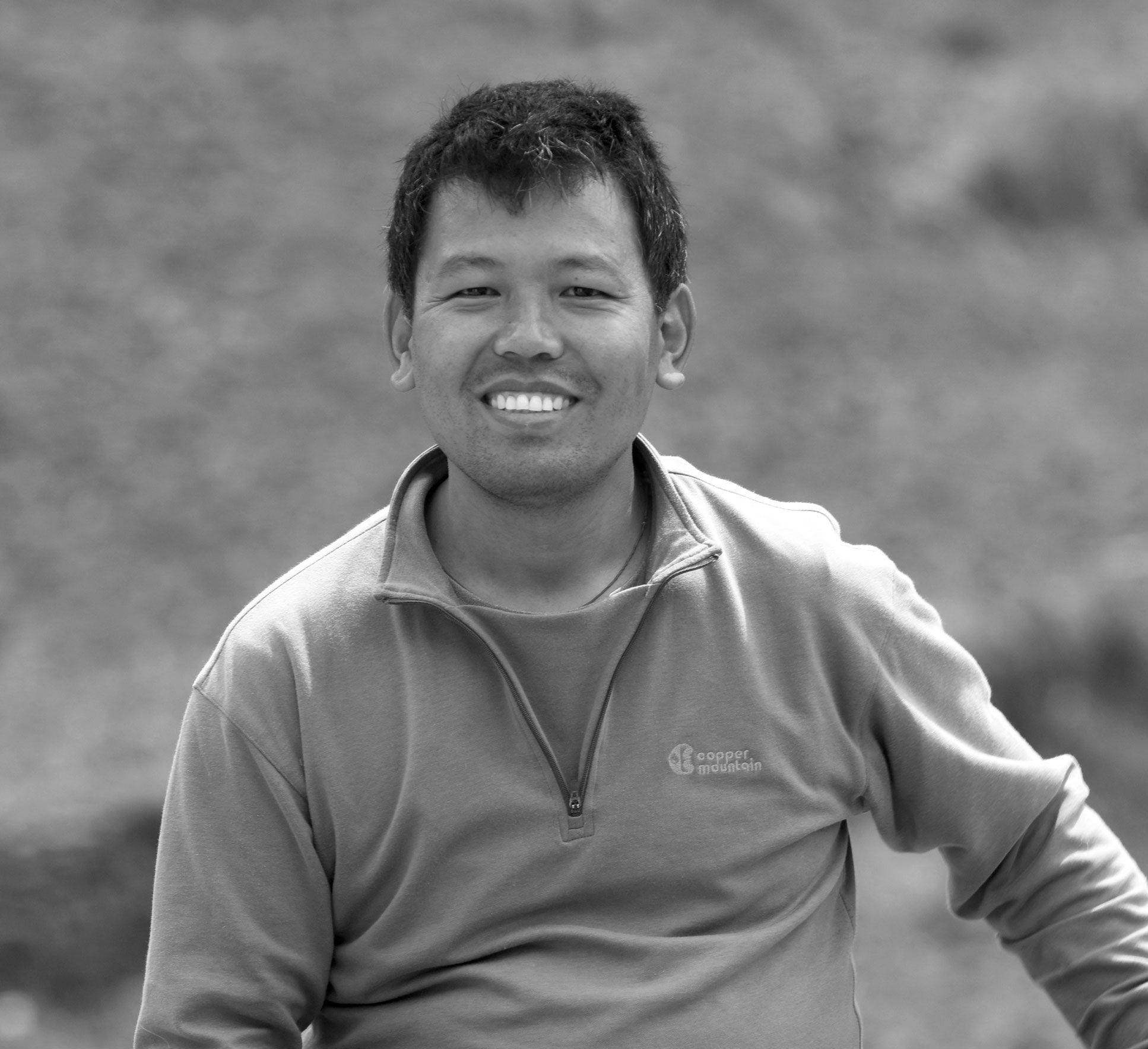 KARMA SHERPA  A man of action, Karma was born into a nomadic family in mountainous Nepal. Karma is the Executive Director of our partner organization The Small World. His skills in community organization and project management are exceptional. The Small World has been in operation for 10 years and is very highly regarded in Solukhumbu and the Kathmandu Valley.