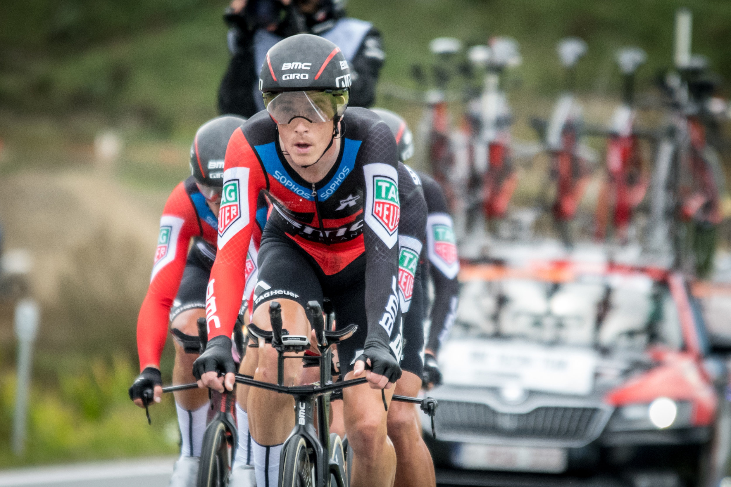 Even with Rohan Dennis, there was no fairytale ending for BMC Racing Team in the men's TTT. They came away with the bronze medal.