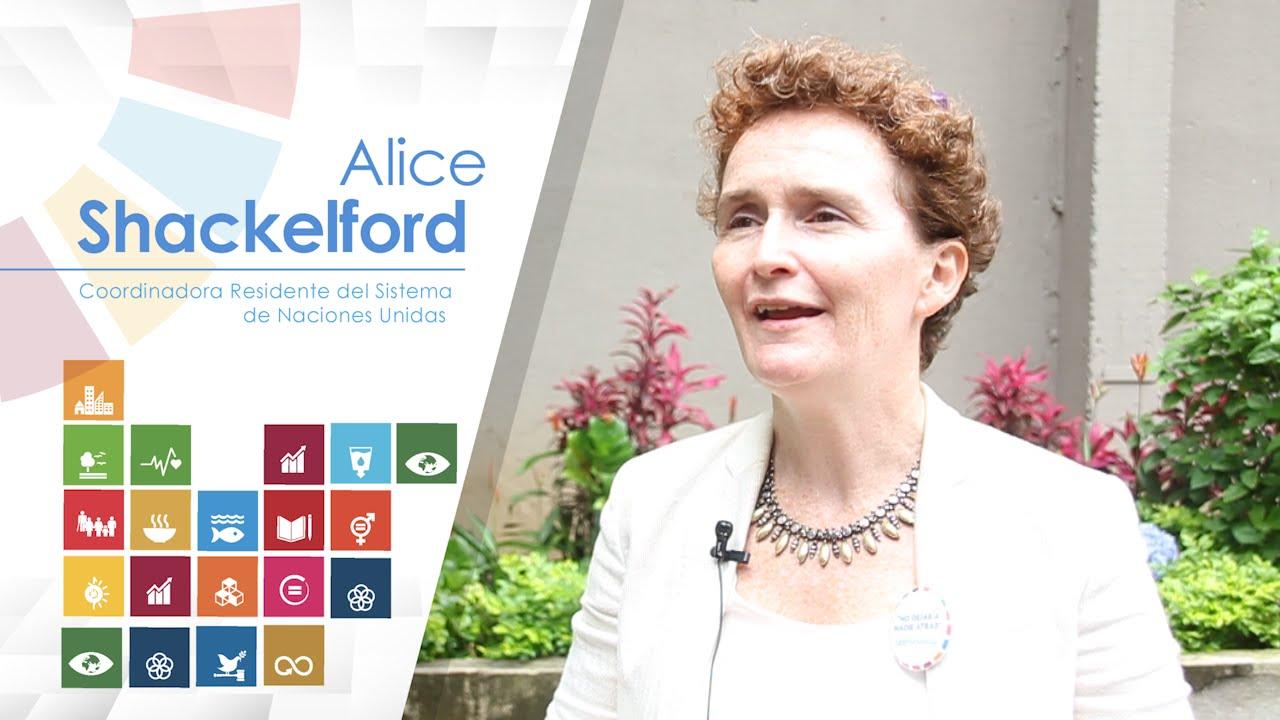 Alice Shackelford, representante de las Naciones Unidas