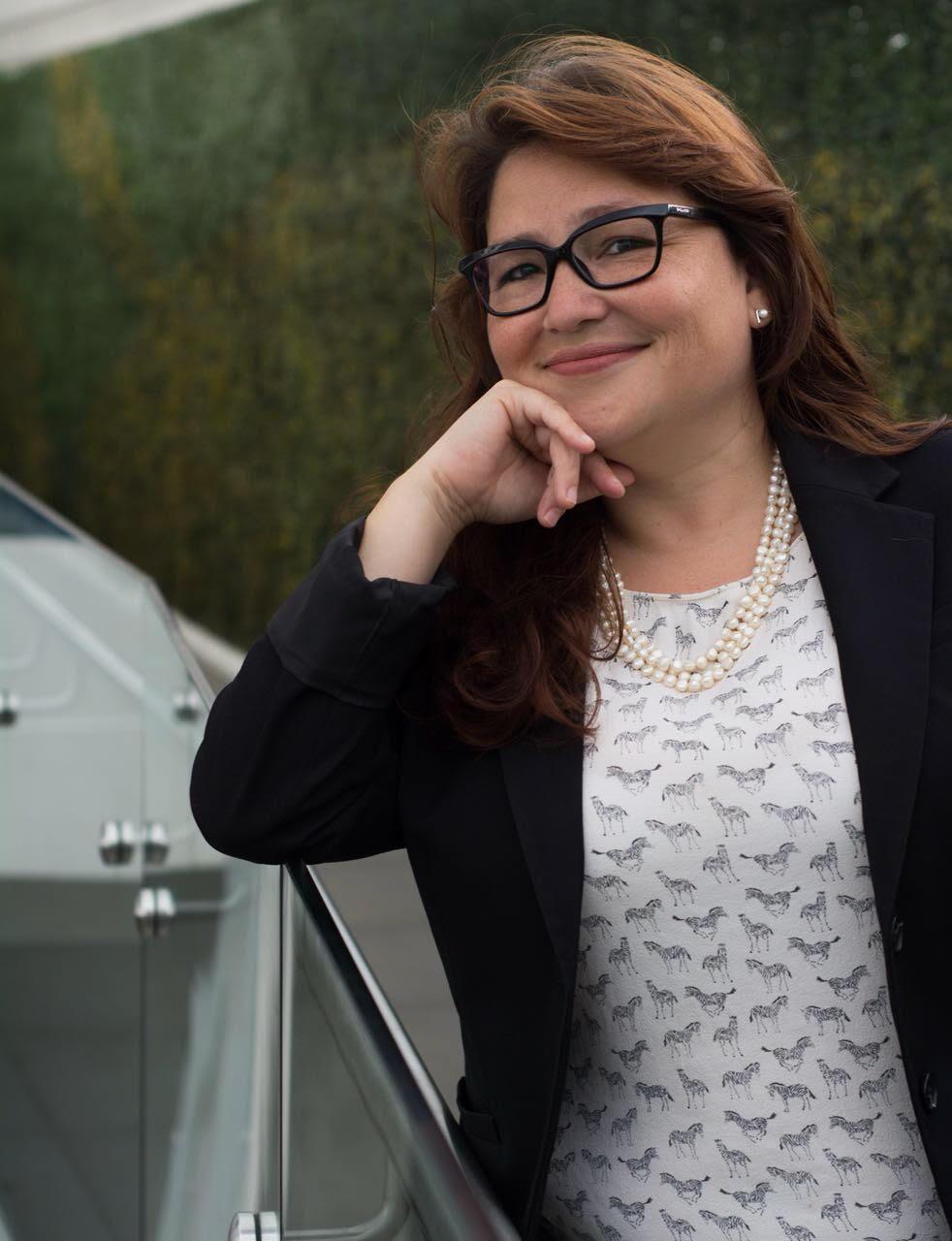 Larissa Arroyo, presidenta de ACCEDER