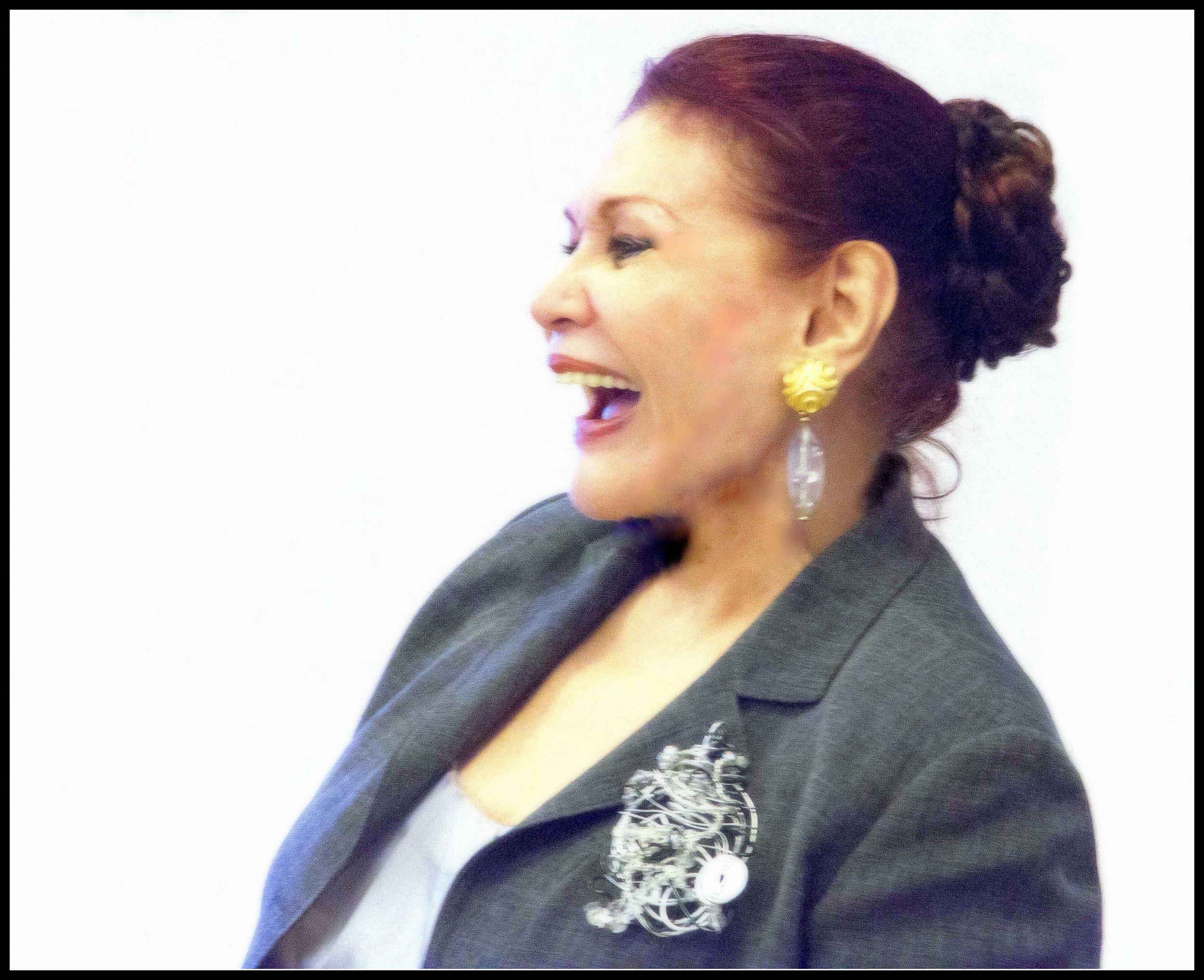 Dra Miriam Estrada Castrillo , Directora Fundación Igualitos