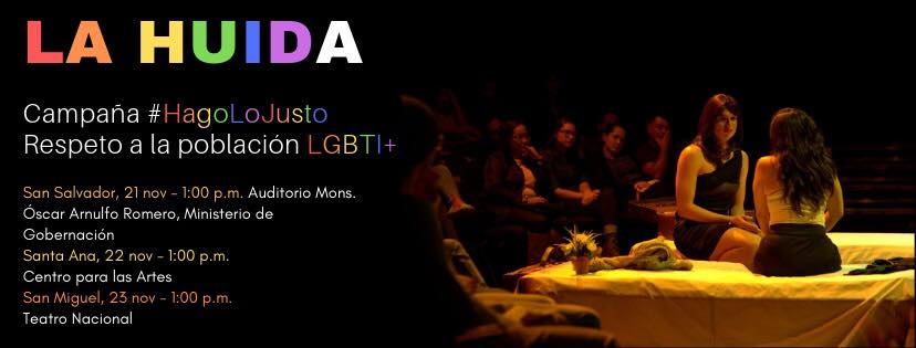 La obra es de Dinora Alfaro y Arnoldo Ramos    Dirección: Arnoldo Ramos