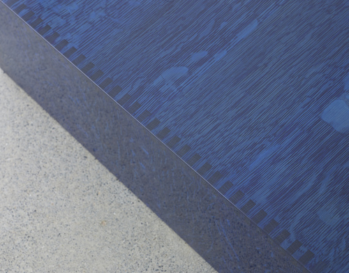 Blue Coffee Table Detail
